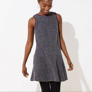 Loft Tweed Flippy Dress